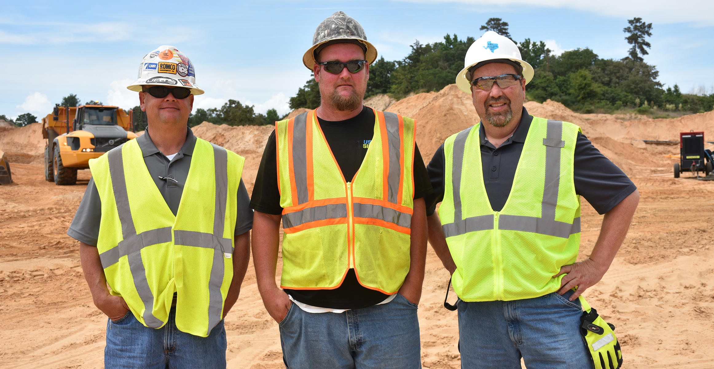 U.S. Silica and ROMCO Equipment work together at quarry near Fort Worth,Texas