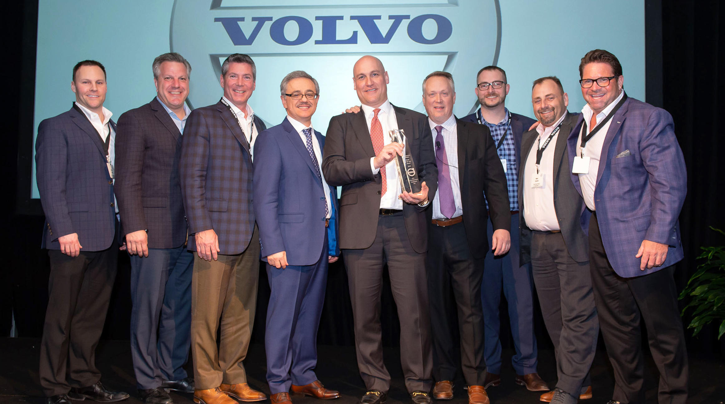 Volvo CE names Alta Equipment 2018 Dealer of the Year