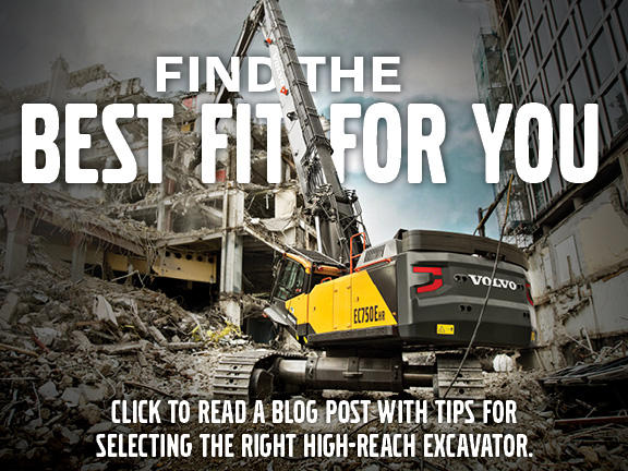 Tips for selecting the right high-reach excavator
