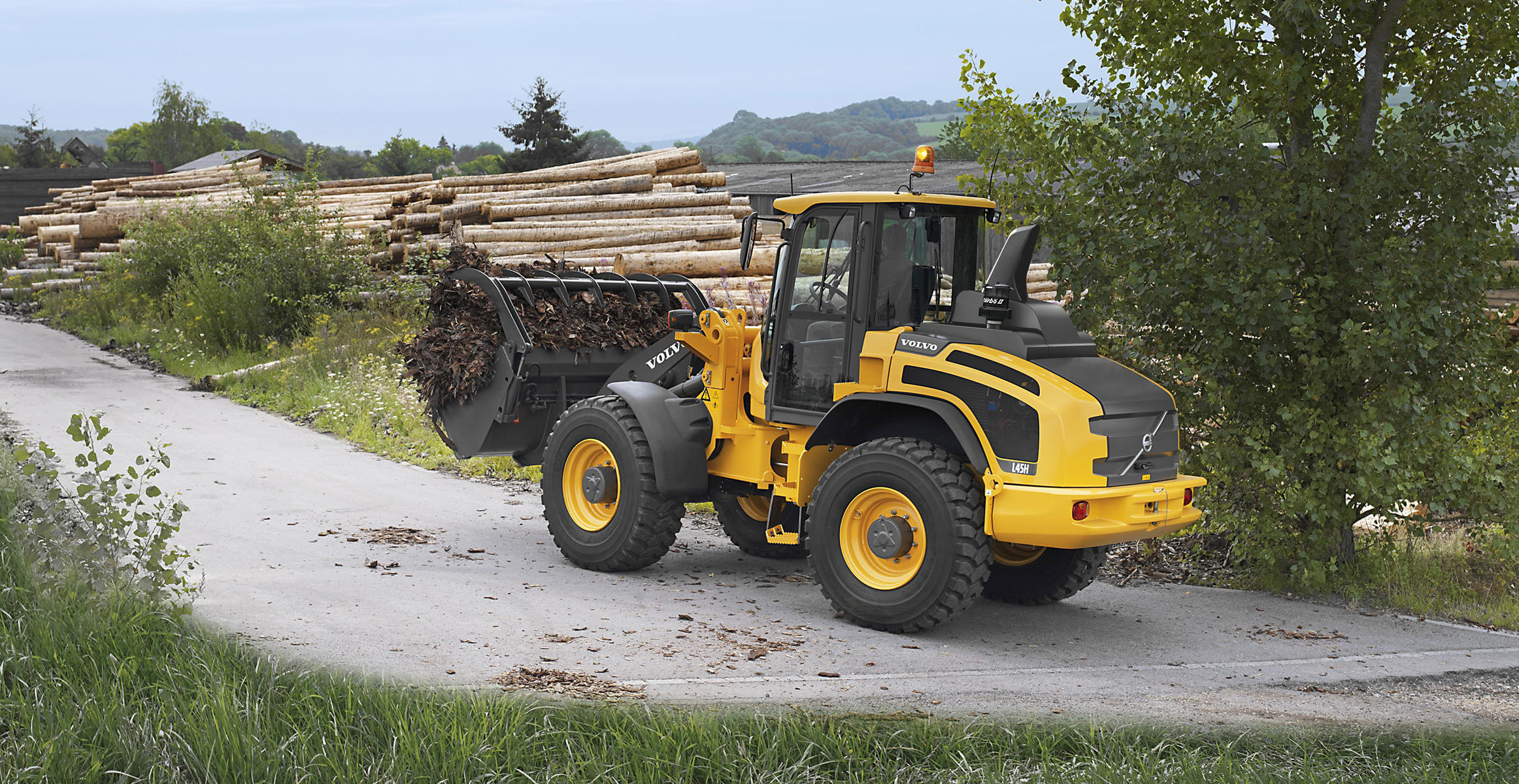 Volvo L45H/L50H High Speed Wheel Loader