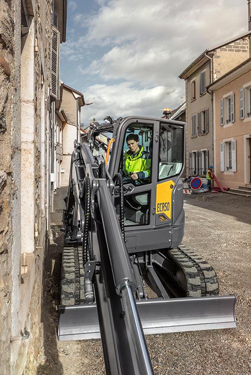 Volvo ECR50 Compact Excavator
