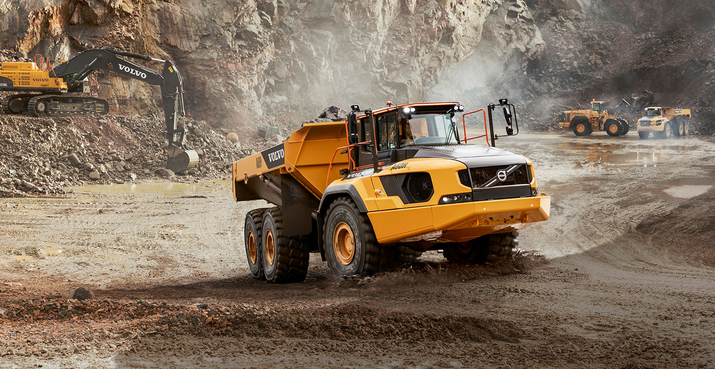 Volvo Truck Dealer >> Volvo A60H – world's largest articulated truck — makes North American debut at MINExpo 2016