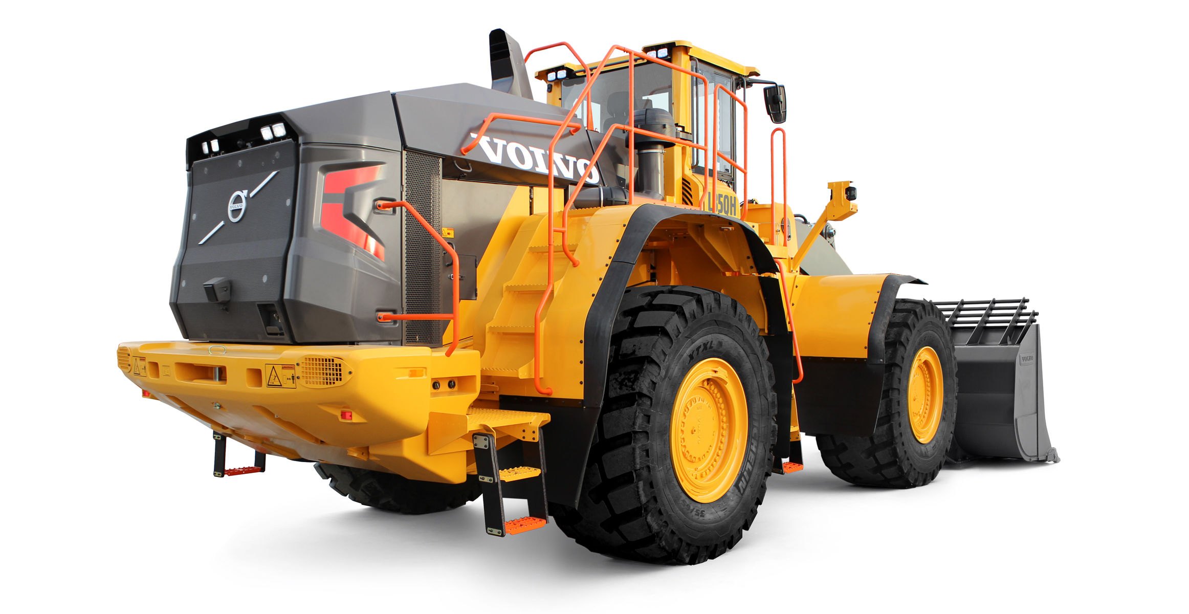Volvo CE reveals latest technology in redesigned L350H front end loader