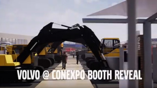 Booth Reveal-Volvo at ConExpo 2020