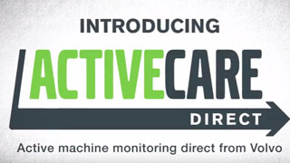 ActiveCare Direct – Active Machine Monitoring Technology from Volvo Construction Equipment