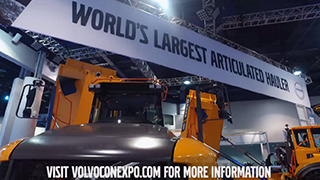 Volvo CE CONEXPO Indoor Booth