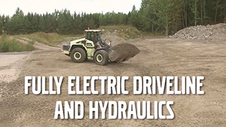 Hybrid Wheel Loader LX1 – Electric Hybrid Technology Innovation – Volvo Concept Labs