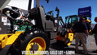 Volvo CE CONEXPO Outdoor Booth