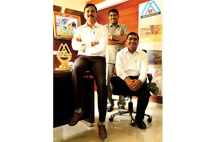 Mr. Abjibhai Dholu, Mr. Mohanbhai Dholu & Mr.Hirabhai Dholu - Mahalaxmi Infrastructure Pvt. Ltd.