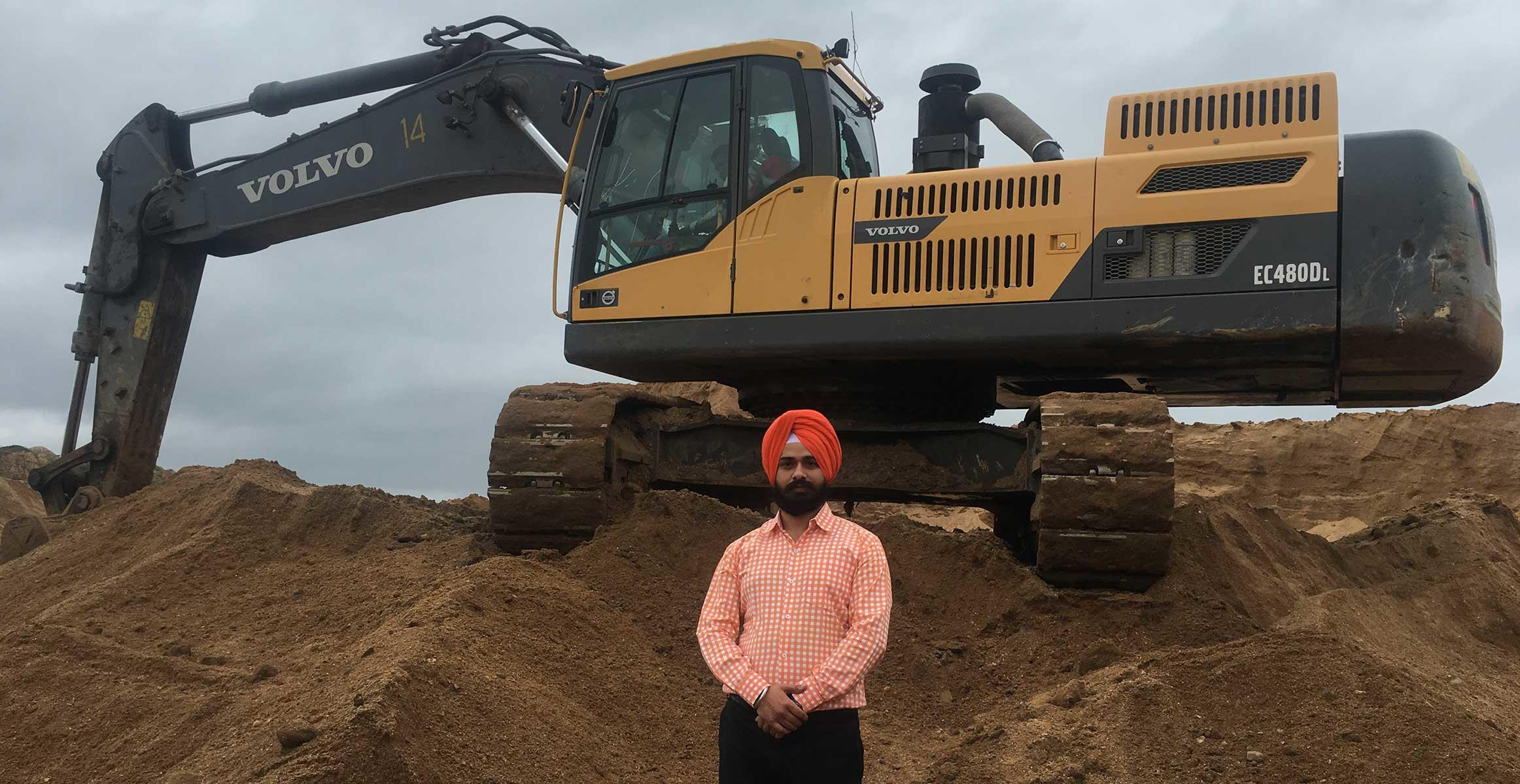 Indian mine maximizes productivity with Volvo CareTrack telematics system