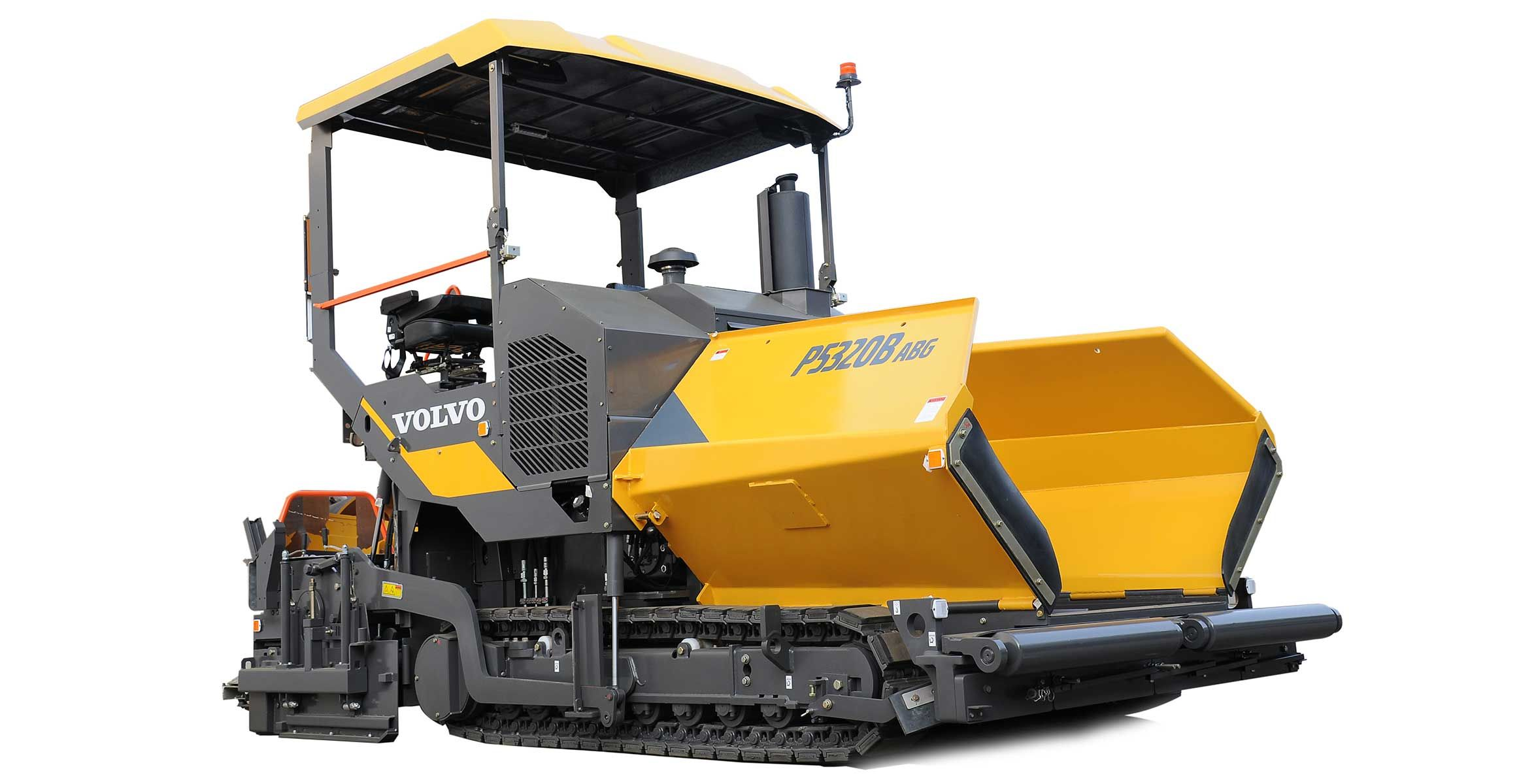 New P5320B ABG paver from Volvo CE makes its first show appearance