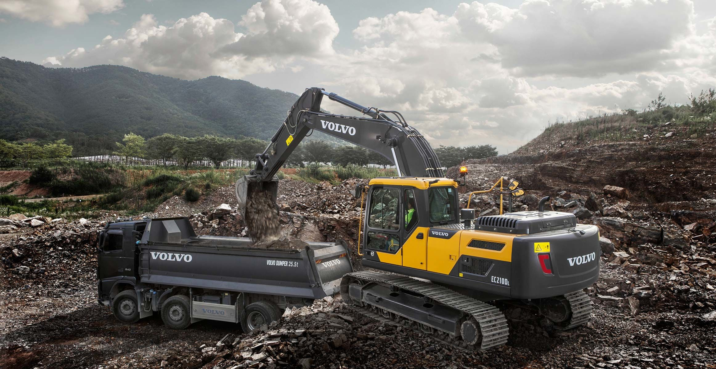 Superior quality products : Volvo Construction Equipment
