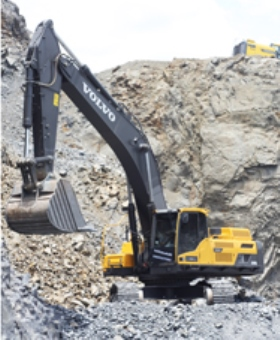 Crushing costs with Volvo CE.