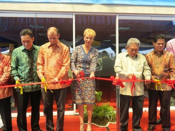 Swedish ambassador applauds new Indonesian training facility