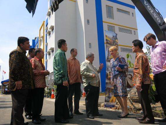 Swedish ambassador applauds new Indonesian training facility