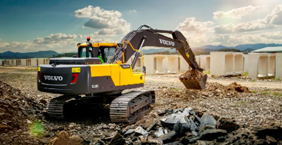 Volvo introduces the new EC210D to South East Asia