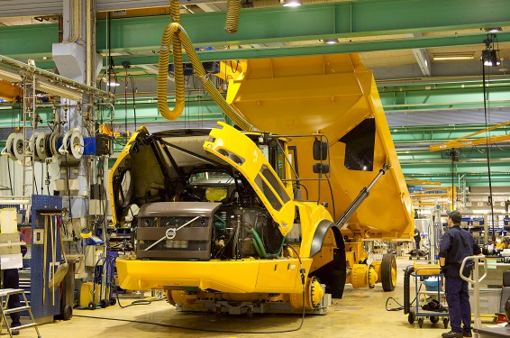 Volvo CE Braås facility achieves CO2 neutrality