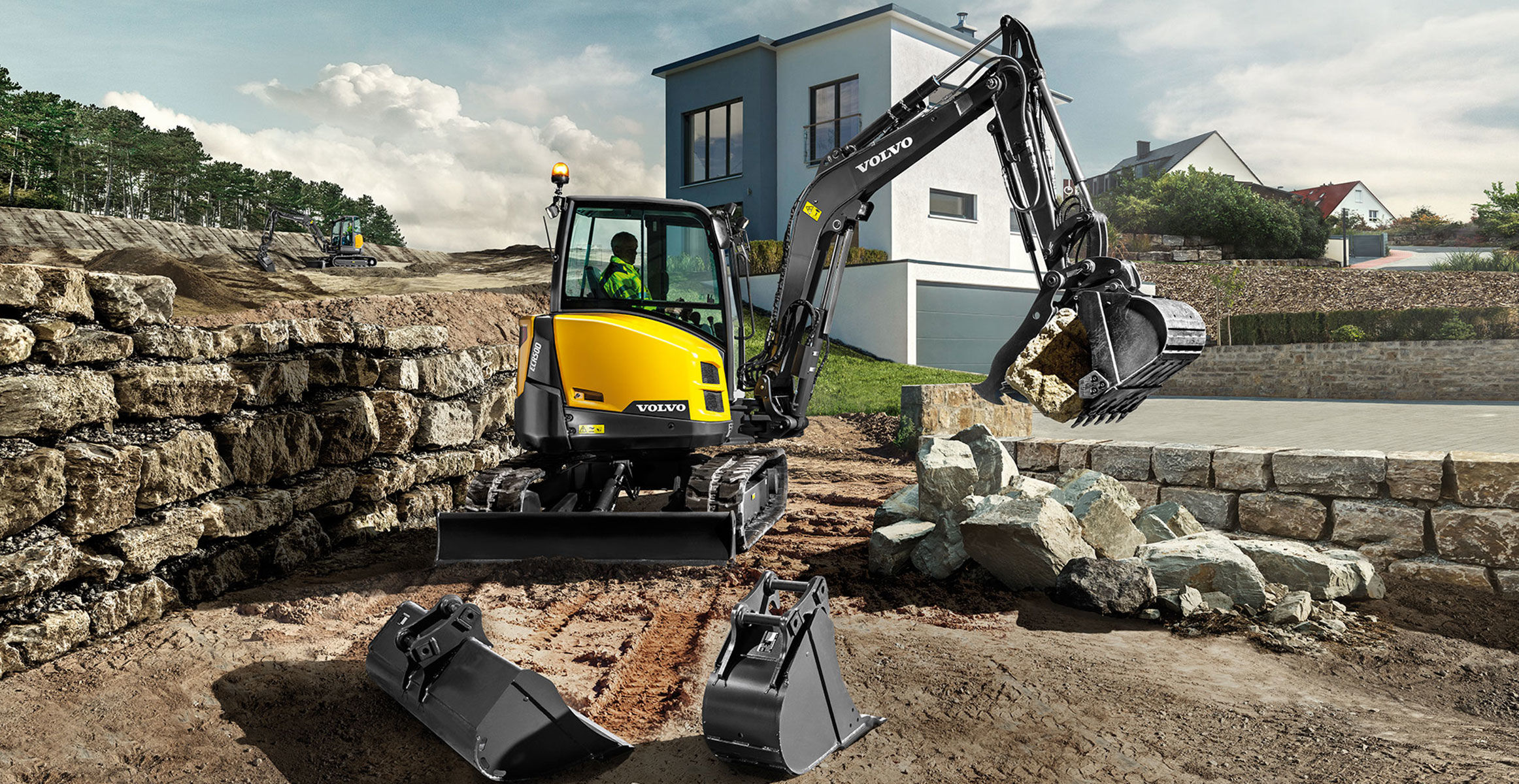 Volvo ECR50D compact excavator launched in Singapore