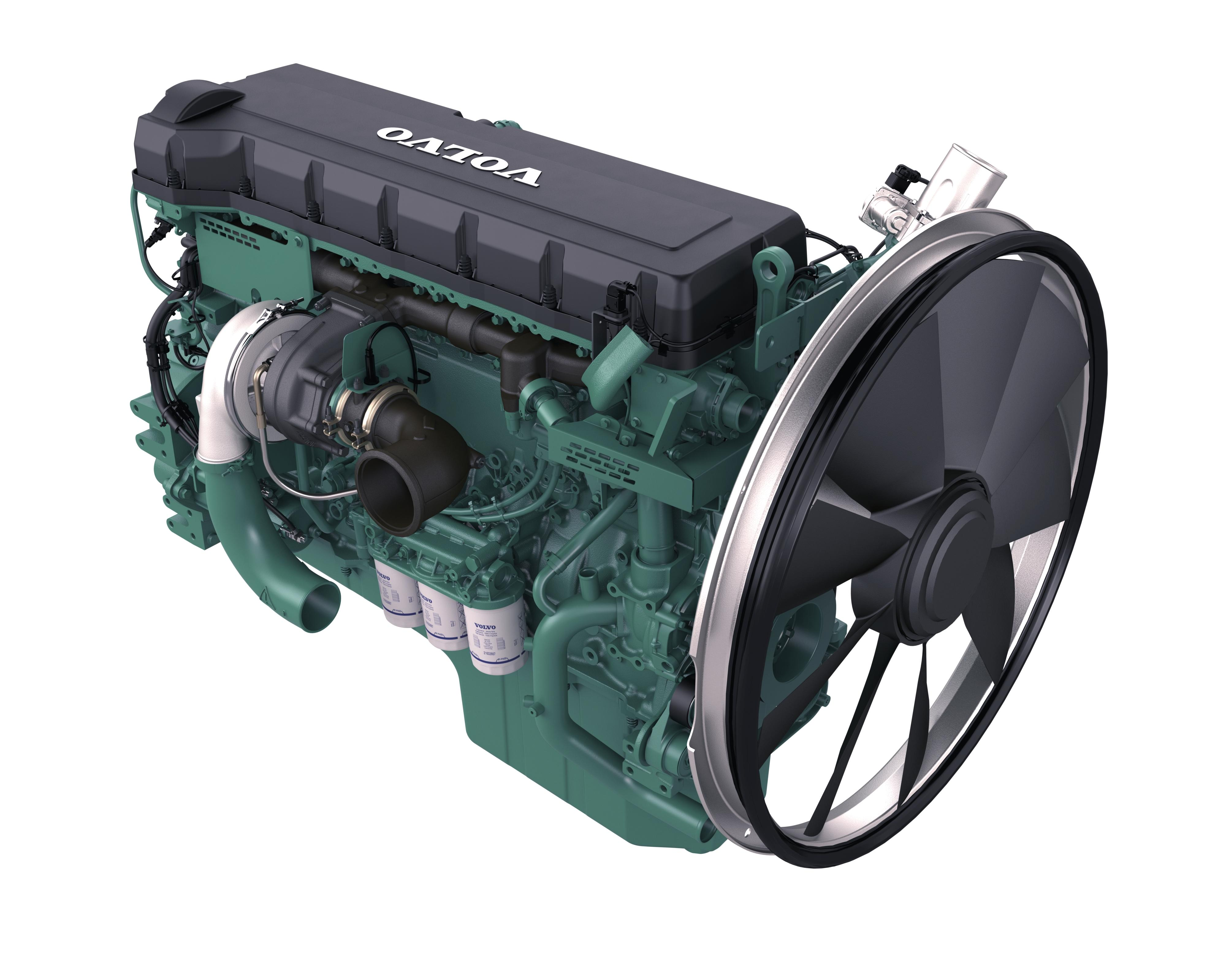 Volvo Penta's D16 engine for Stage IV within Europe