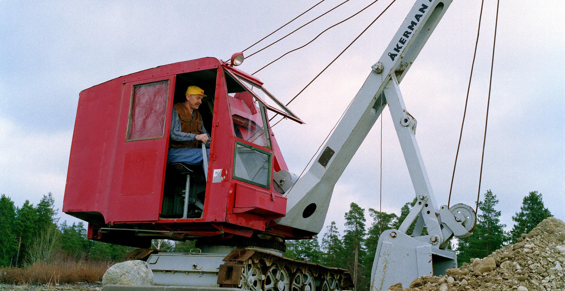 Åkerman excavator