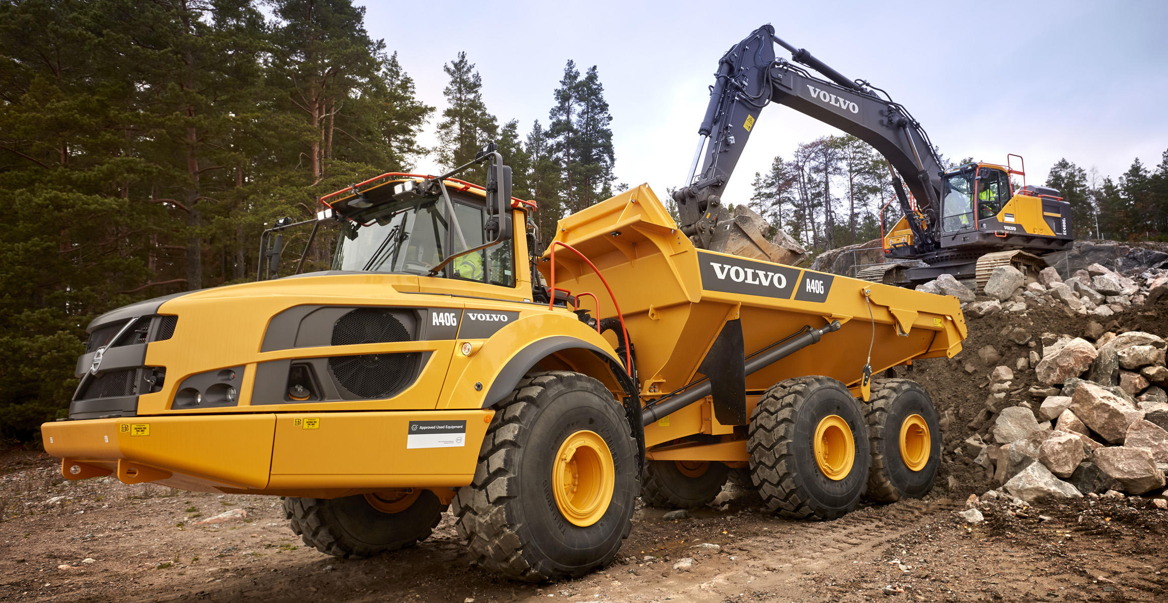 Volvo used equipment