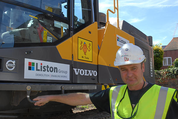 Liston Group Volvo EC380E