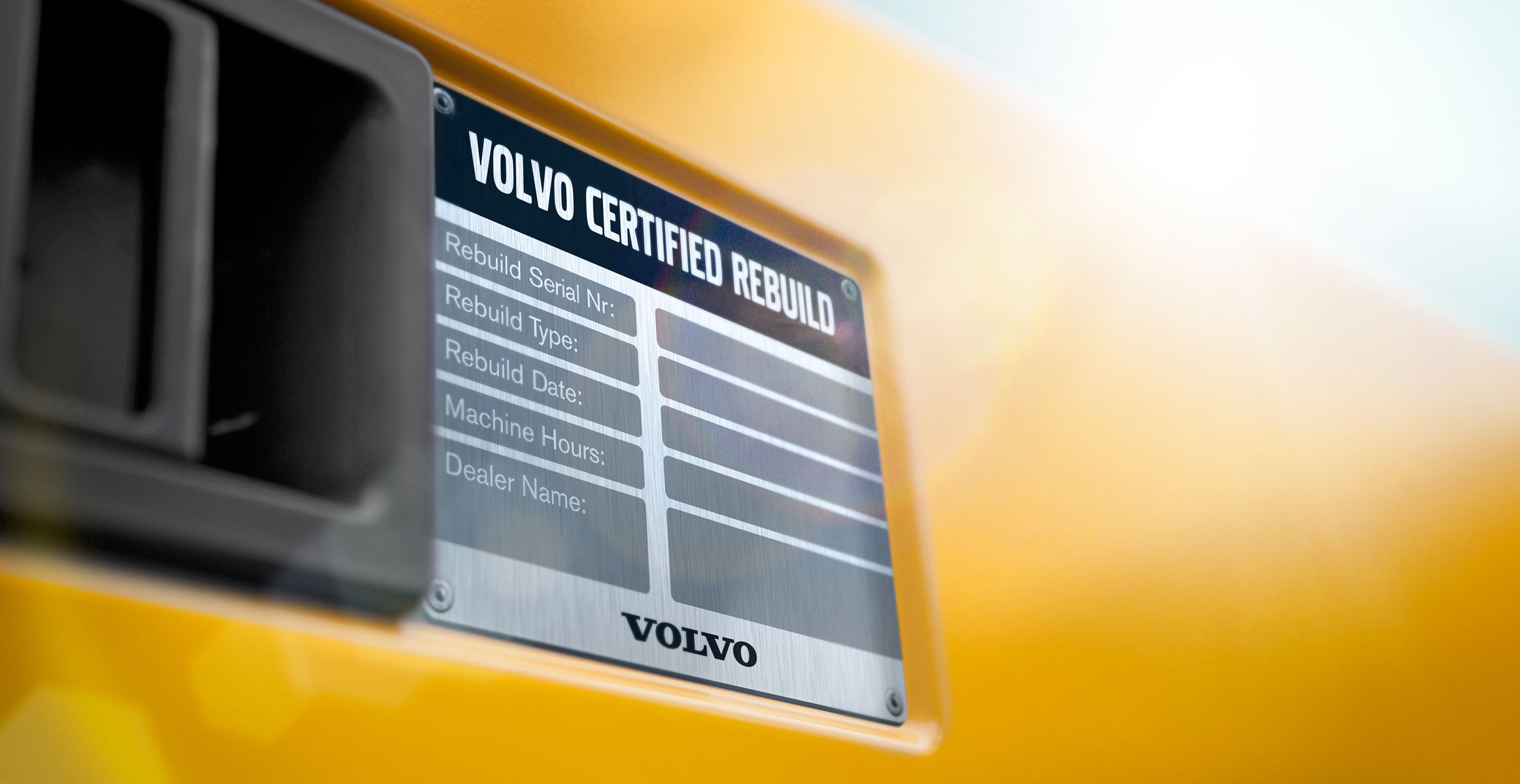 Certified Rebuild Program breathes new life into Volvo machines